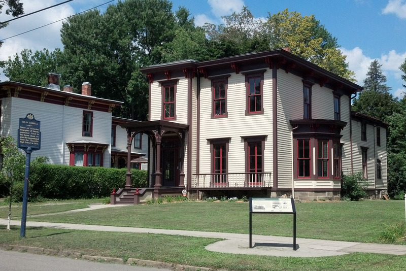 Tarbell House, 324 E. Main St., Titusville, PA. (View from August, 2012)