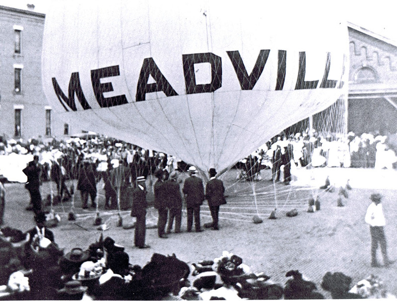 Alic Thurston's Balloon The Meadville at the Market House